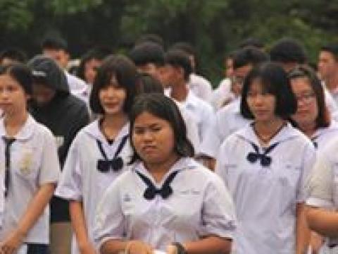 โครงการอบรมคุณธรรม จริยธรรม และปฐมนิเทศนักเรียน นักศึกษาใหม่๒๕๖๒