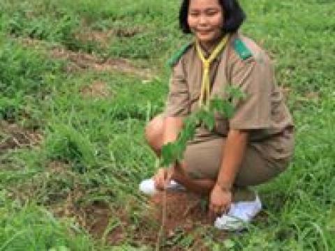 กิจกรรมปลูกต้นไม้เนื่องในวันสิ่งแวดล้อมโลก ประจำปี 2562