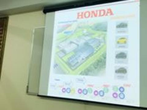 ประชุมการเรียนการสอนระบบทวิภาคีกับบริษัทฮอนด้า โลจิสติกส์