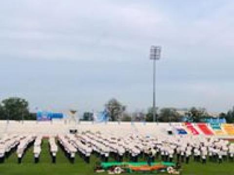 พิธีเปิดการแข่งขันกีฬาอาชีวะเกมส์ ระดับภาค ภาคตะวันออกและกรุงเทพ