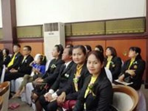 พิธีไหว้ครูและปฐมนิเทศนักศึกษาใหม่ ระดับปริญญาตรี ฯ ๒๕๖๒