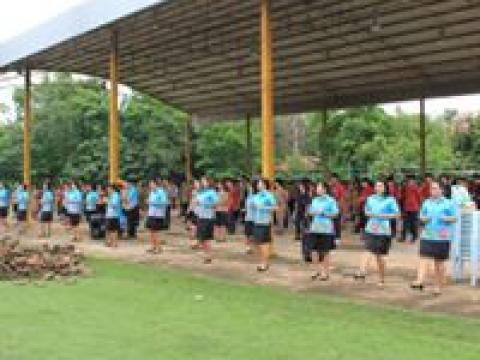การออกกำลังกายเพื่อสุขภาพก่อนเข้าชั้นเรียน