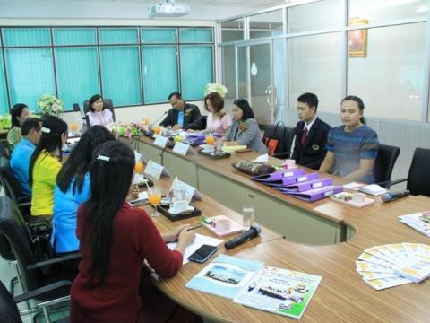 ร่วมยินดีต้อนรับคณะกรรมการนิเทศติดตามสถานศึกษาโรงเรียนคุณธรรม