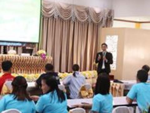 การเขียนแผนการฝึกอาชีพ ร่วมกับสถานประกอบการพร้อมพัฒนาหลักสูตรฯ