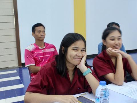 การประชุมผู้บริหาร ครู และบุคลากรทางการศึกษา