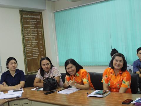 ประชุมเตรียมความพร้อมการร่วมงานประชุมวิชาการองค์การนักวิชาชีพฯ