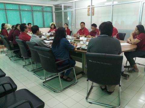 ประชุมคณะกรรมการชมรมผู้ปกครองและครูวิทยาลัยเทคนิคฯ