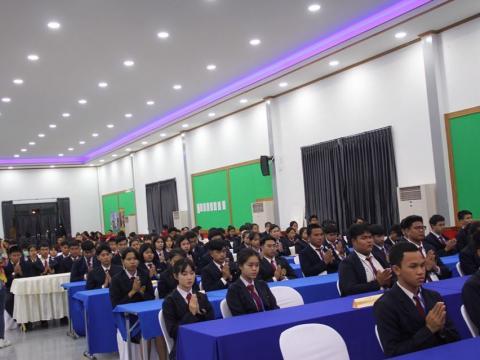 ร่วมการเปิดประชุมวิชาการองค์การนักวิชาชีพและรับเกียรติบัตรรางวัล