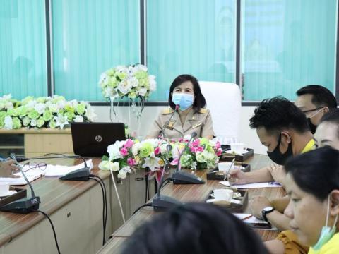 ประชุมมาตรการในการป้องกันการแพร่ระบาดของโรคติดเชื้อไวรัสโคโรนา