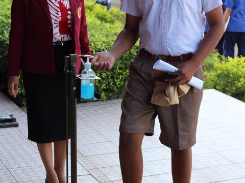 การประชุมผู้ปกครอง นักเรียน นักศึกษาใหม่ ประจำปีการศึกษา ๒๕๖๓
