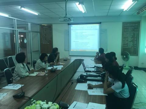 การนิเทศอาสาโรงเรียนคุณธรรม จริยธรรม ครั้งที่ 2
