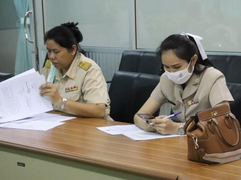 การประชุมโครงการส่งเสริมการประกอบอาชีพอิสระในกลุ่มผู้เรียนอาชีวฯ
