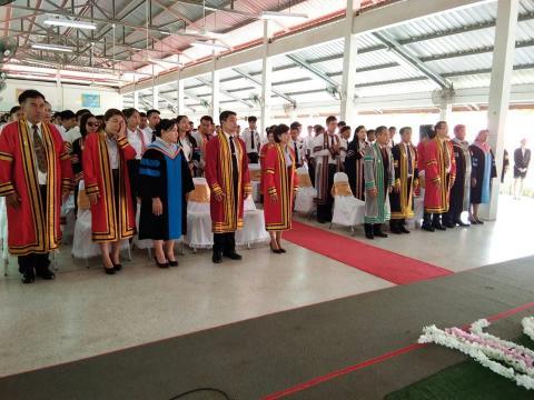 พิธีมอบประกาศนียบัตรผู้สำเร็จการศึกษาประจำปีการศึกษา 2560