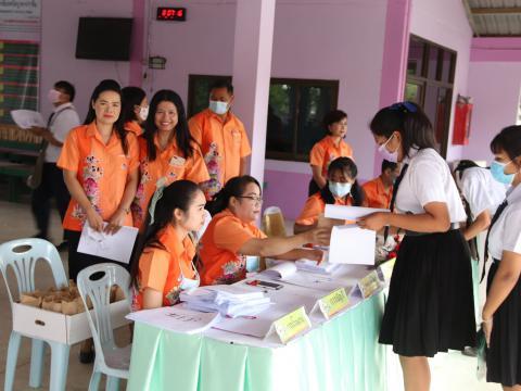 โครงการจัดปฐมนิเทศและประชุมผู้ปกครอง