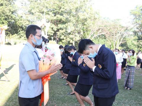 ร่วมแสดงความยินดีกับข้าราชการครู ๕ ท่าน