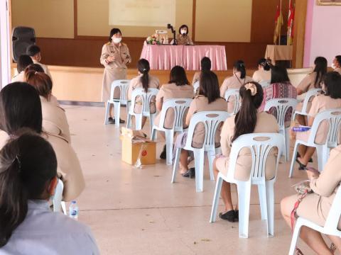 ประชุมครู ครั้งที่๑/๒๕๖๔ มอบนโยบายในการทำงานและการจัดการเรียนการ