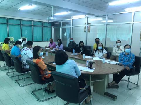 ประชุมคณะทำงานจัดทำและขับเคลื่อนแม่บทและแผนปฏิบัติการส่งเสริม