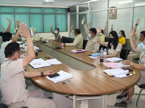 การประชุมพิจารณาผลการเรียนให้กับนักเรียน นักศึกษา ภาคเรียนที่ ๒