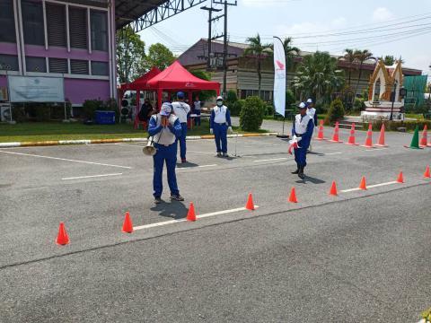 การแข่งขันทักษะขับขี่ปลอดภัยฮอนด้า นักเรียนอาชีวศึกษา