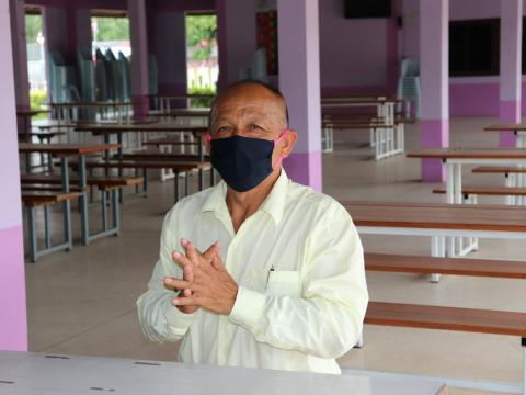 โครงการอบรมหลักสูตรวิชาชีพระยะสั้น การจัดทำสบู่เหลวล้างมือ