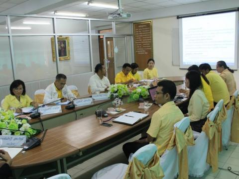 ต้อนรับคณะหน่วยนิเทศ โครงการพัฒนาระบบการประกันคุณภาพสถานศึกษาด้ว