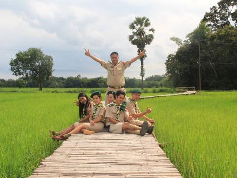 โครงการฝึกอบรมเข้าค่ายลูกเสือวิสามัญ ประจำปีการศึกษา 2561